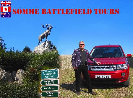 Somme Battlefield Tours header image